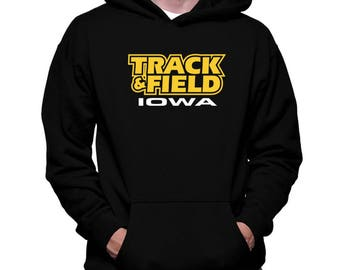 Track And Field Iowa Hoodie