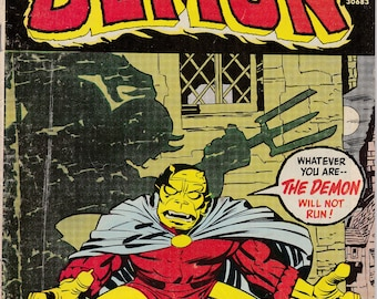 Demon #9 - June 1973 Issue - DC Comics - Grade G/VG