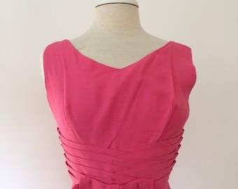1960s Pink Summer dress