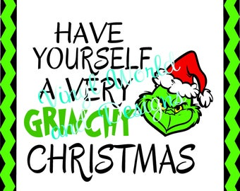 SVG Files, Grinch SVG, Christmas SVG File, eps files, png files, jpeg, dxf files, Files for Cricut, Studio File, Christmas Funny Files
