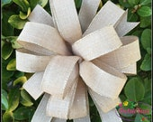 Solid Color bow, Wreath Bow, Burlap Bow, Party Bow, Wreath bow, Floral Bow, Package Gift Bow, Lantern Bow, Swag Bow, Basket Bow, Wedding bow