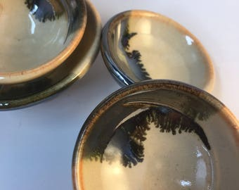 Ring dish, small pottery trinket dish