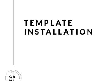 Template Installation