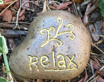 Relax Inspirational Stone