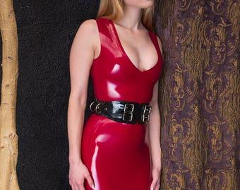 Latex Dress for Girls
