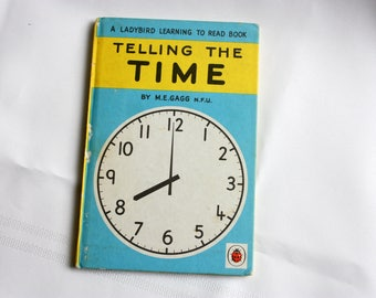 Telling the Time, Vintage Ladybird Reader, Ladybird Book, first edition
