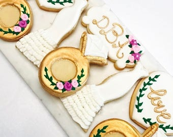 Bridal Shower Cookie Set #1