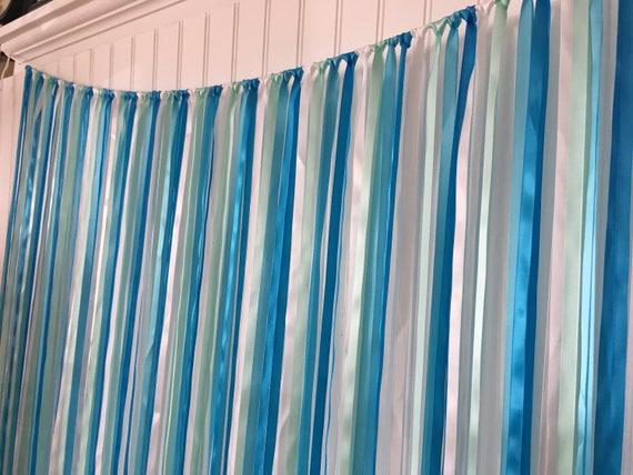 Baby Shower Backdrop Wedding Ribbon Backdrop Ribbon