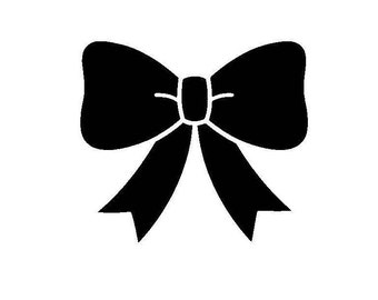 Bow Vinyl Decal/Sticker