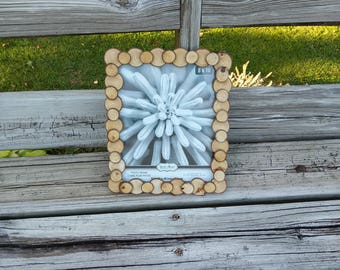 Tree slice picture frame/8x10