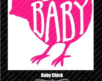 Baby Chick SVG Digital Download