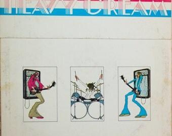 Cream Heavy Cream Original 1972 Vintage Rock & Roll Blues Vinyl Record Album LP