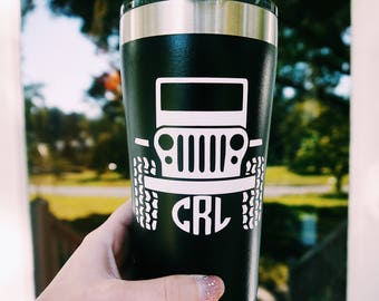 Jeep Tumbler // Jeep Lover Gift
