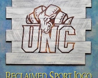 North Carolina TarHeel, Whitewash, FREE UV protector, 30X23, Burnt wall hanging, Shou Sugi Ban, Charred wood, Sports sign, Wood Sports sign