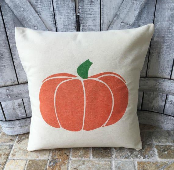 Halloween Pillow, Pumpkin Pillow, Canvas Pillow, Halloween Decoration, Fall Decor, Outdoor Pillow, Halloween Decor, as seen in HGTV Magazine