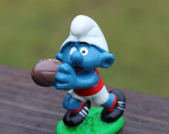 1980 Football Player Smurf