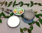 lifestyle set~ sage orange deodorant & mint clove toothpaste \ vegan deodorant \ natural deodorant \ organic toothpaste \ natural toothpaste