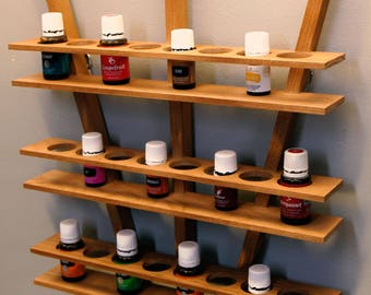 Essential Oil Wall Rack
