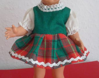 "Antique German Celluloid Doll Ursel Sir 19 cm/7.5 ""ca. 1950 Germany"