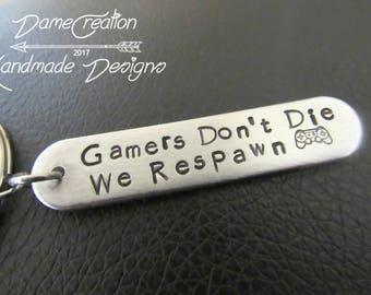 Funny Keychain For Boyfriend Gamer Groomsmen Gift Wedding Geek Groomsman