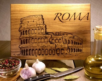 Italy, Rome, Colosseum Cutting Board, gift