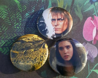The Labyrinth Pinback Buttons