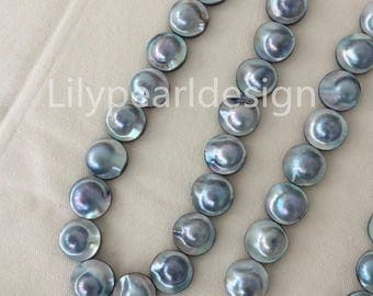 New arrival!High Luster MaBe pearl necklace