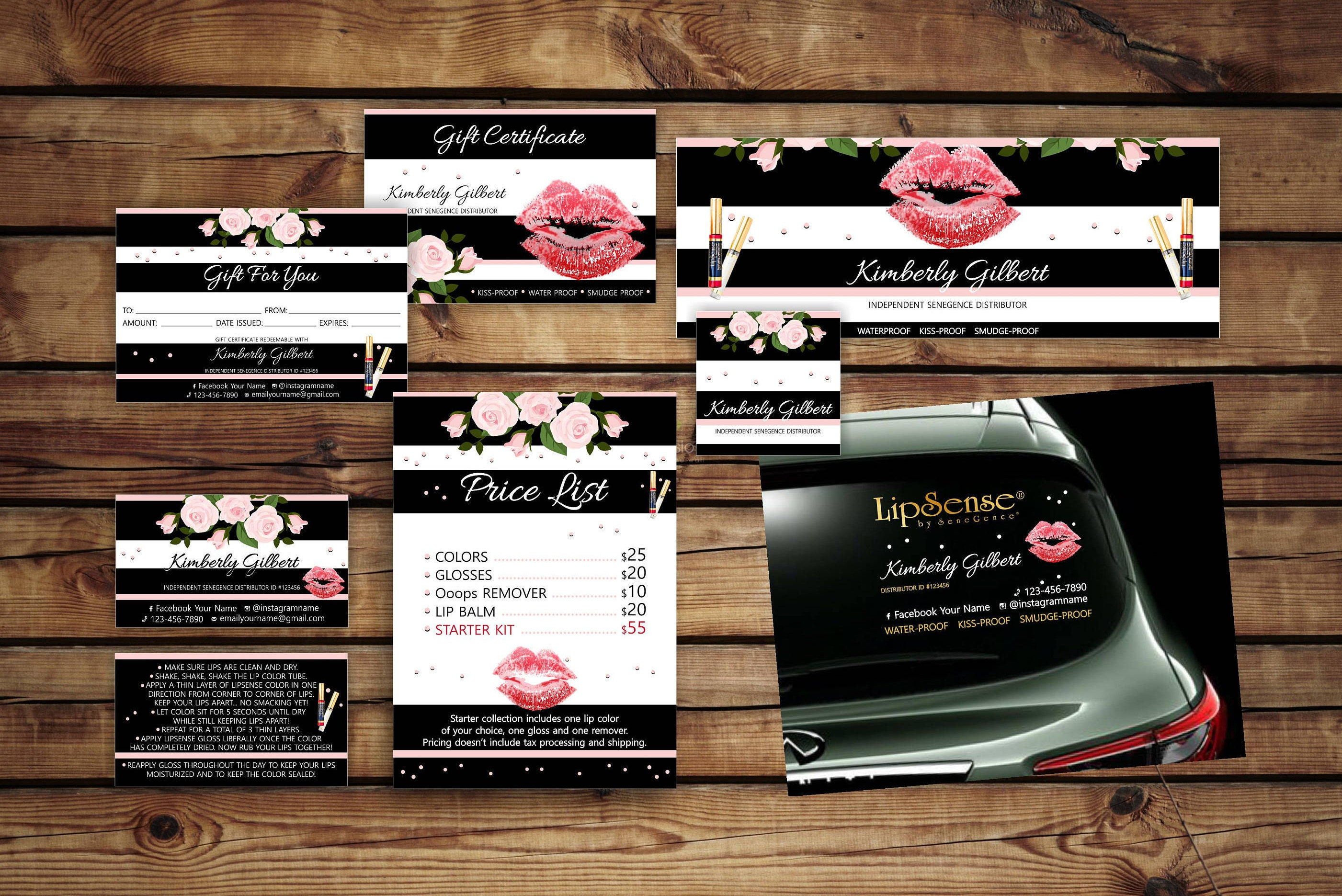 Very LipSense Kit * LipSense Marketing Set * LipSense Marketing Kit  NU29