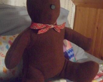Stuffed Brown Bear