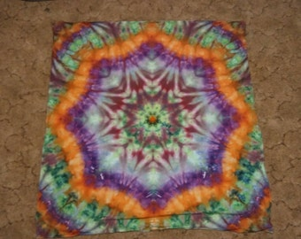 Tie Dye Tapestry (About 4' x 4')