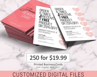 Mary Kay Business Cards Design ONLY No Printing DIGITAL - Mary kay business cards templates free
