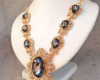 Romantic Renaissance Style necklace