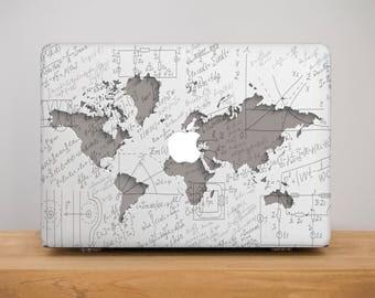 World Map Macbook Air 13 Macbook Case MacBook Pro 13 Case Apple Decal Macbook Air 11 Case MacBook Pro Retina 15 Macbook 12 Hard Cover PP2141