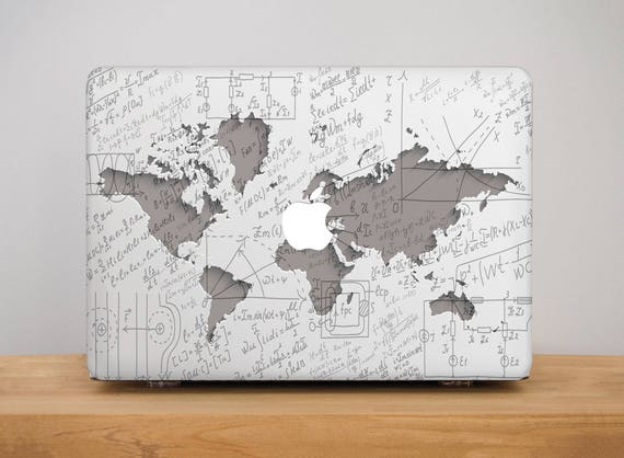 World map macbook air 13 macbook case macbook pro 13 case like this item gumiabroncs Gallery