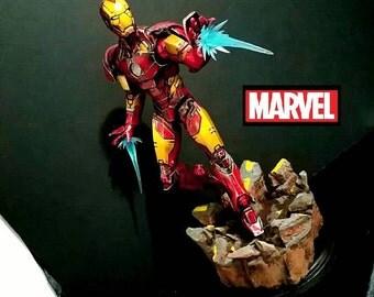 marvel iron man 20in statue