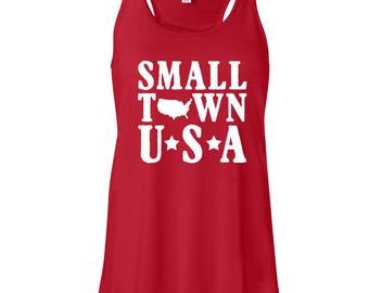 Small Town USA tank, USA Tank, America Tank