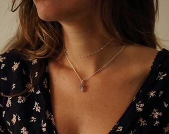 Bohemian choker / Minimalist choker / Silver Choker / Boho necklace