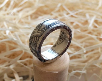 USSR Coin Ring - Olympic Games 1980 Moscow Russia - Soviet One Ruble - Sport - Soviet Union 1 Rub - CCCP XXII Olympics
