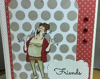 Funny Friends Card