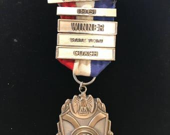 Vintage Sterling Silver Medal