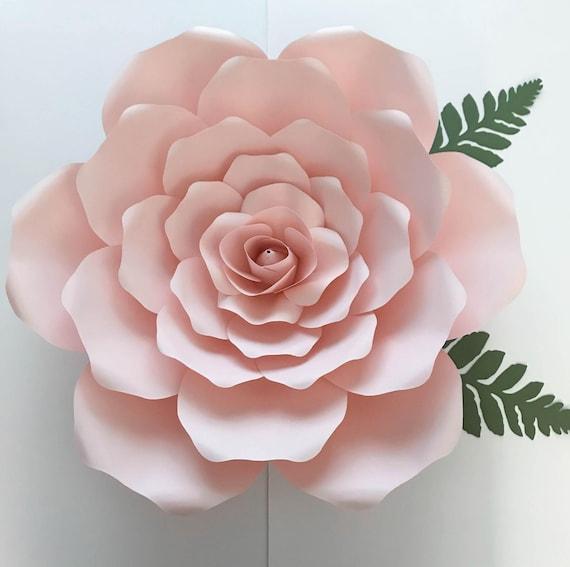 rose petal templates free - pdf petal 19 paper flower template w rose bub center