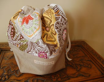 Retro Drawtsring Bag, medium