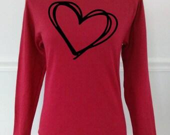 Valentines t shirt | Etsy
