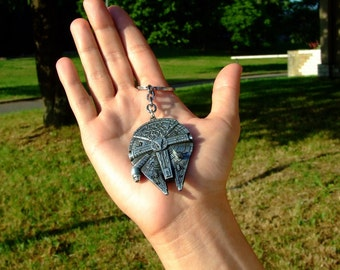 Millennium Falcon replica Keychain inspired Star Wars