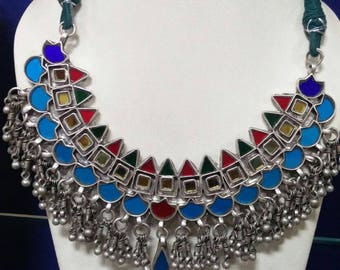 Colorful Handcrafted 925 Sterling Silver Necklace