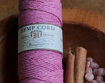 Hemp Cord Light Pink