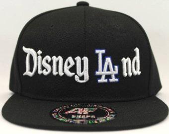 Disneyland / Dodgers Inspired Snap Back Adjustable Hat
