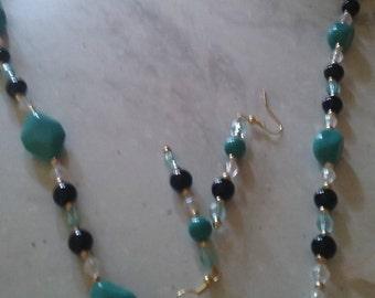 Black and Jade