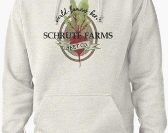 Schrute Farms Unisex Sweater Pullover Hoodie