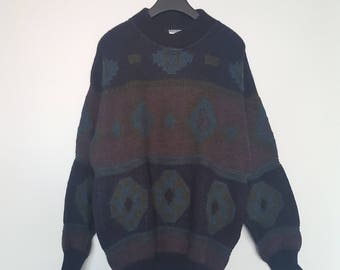 Oversized Yves Saint Laurent Sweater with shawl collar size XL